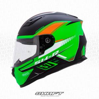 Casco Integral Moto Proteccion Shaft 520 Racing Team Certificado Hombre Motero Cascoloco Distriramirez