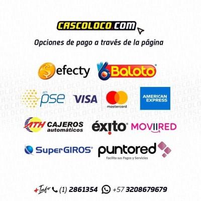 Opciones de pago Cascoloco