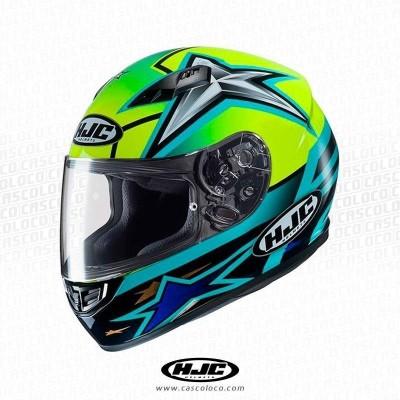 Casco Integral Certificado HJC CS-15 Toni Elias Moto Proteccion Hombre Motero Cascoloco Distriramirez