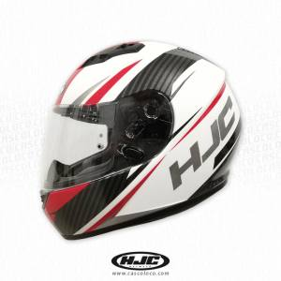 Casco Integral Certificado HJC CS15 Kane Rojo Moto Proteccion Motero Cascoloco Distriramirez