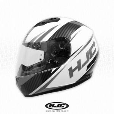 Casco Integral Certificado HJC CS15 Kane Gris Moto Proteccion Motero Cascoloco Distriramirez