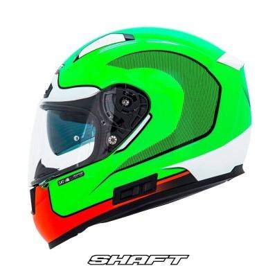 Casco Integral Certificado Shaft Pro 577 Rockstar Moto Proteccion Motociclista Cascoloco DFR Distriramirez