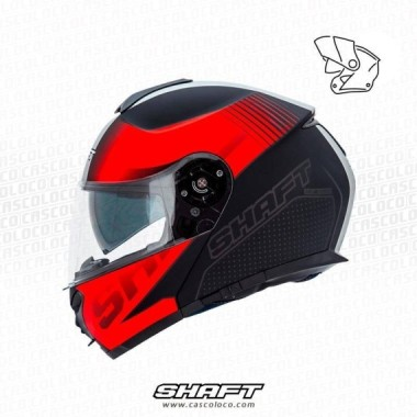 Casco Abatible Certificado Shaft 3900 Excess Moto Proteccion Motociclista Cascoloco Distriramirez