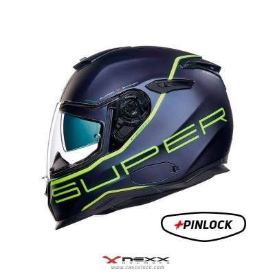 Casco Integral Certificado Nexx SX100 Superspeed Moto Proteccion Hombre Motociclista Cascoloco Distriramirez