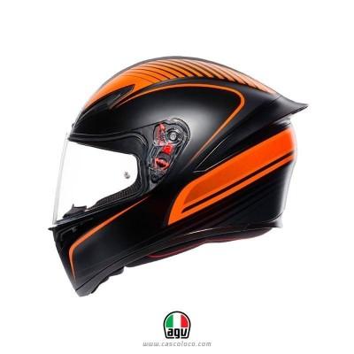 Casco Integral Certificado AGV K1 Warmup Moto Proteccion Motociclista Cascoloco Distriramirez