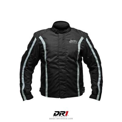 Chaqueta con Protecciones Certificadas DR1 4059 Moto Proteccion Hombre Motociclista Cascoloco Distriramirez