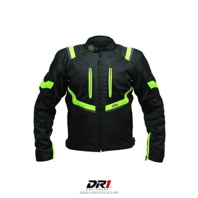 Chaqueta con Protecciones Certificadas DR1 4111 Moto Proteccion Hombre Motociclista Cascoloco Distriramirez