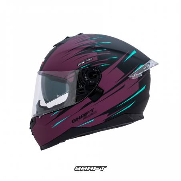 Casco Integral Certificado Shaft Pro 600 Sonic Morado Moto Proteccion Mujer Motociclista Cascoloco distriramirez